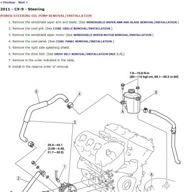 [SCHEMATICS_4UK]  2011 Mazda CX-9 Service Manual CD ROM workshop repair 3.7L MZR V6 CX9 | Mazda Cx 9 Engine Diagram |  | mmdl - eCRATER