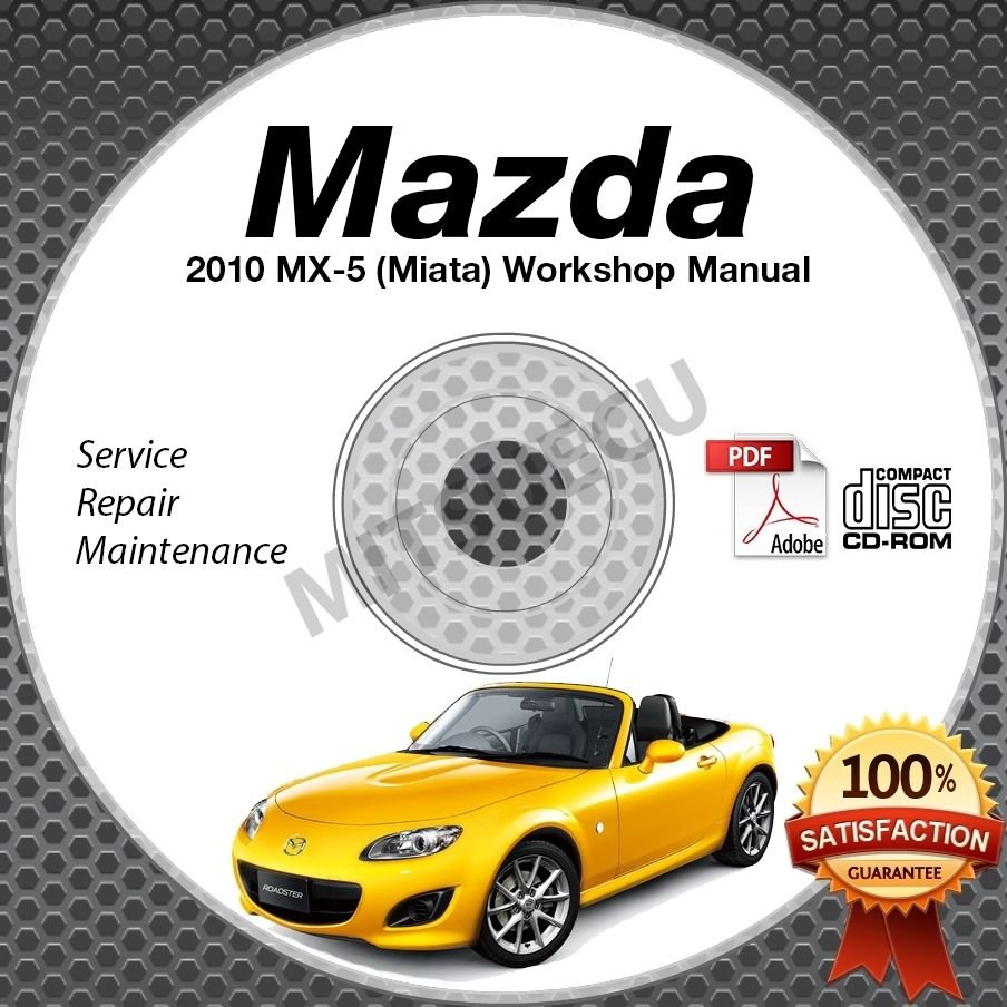 2010 Mazda Miata MX-5 Service Manual CD Workshop Repair 2.0L NC *NEW* High Def