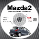2011-2013 Mazda2 Service Manual Repair CD-ROM 2012 workshop