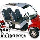 2002-2004 GEM E825 Electric Car Service Manual CD ROM Repair golf 2003