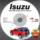 1999-2000 Isuzu AMIGO Service Manual CD ROM 2.2L 3.2L workshop repair shop