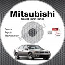 2004-2012 Mitsubishi GALANT Service Manual CD ROM repair workshop 2.4L 3.8L