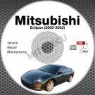 2000-2002 Mitsubishi Eclipse Service Repair Manual CD ROM workshop 3G