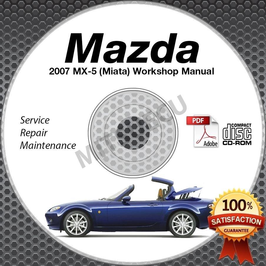 2007 Mazda Miata MX-5 Service Manual CD Workshop Repair 2.0L NC *NEW* High Def