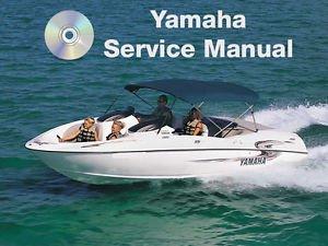 1999-2005 Yamaha Boats LST1200 X/Y/Z LS2000 LX210 AR210 Service Manual CD repair