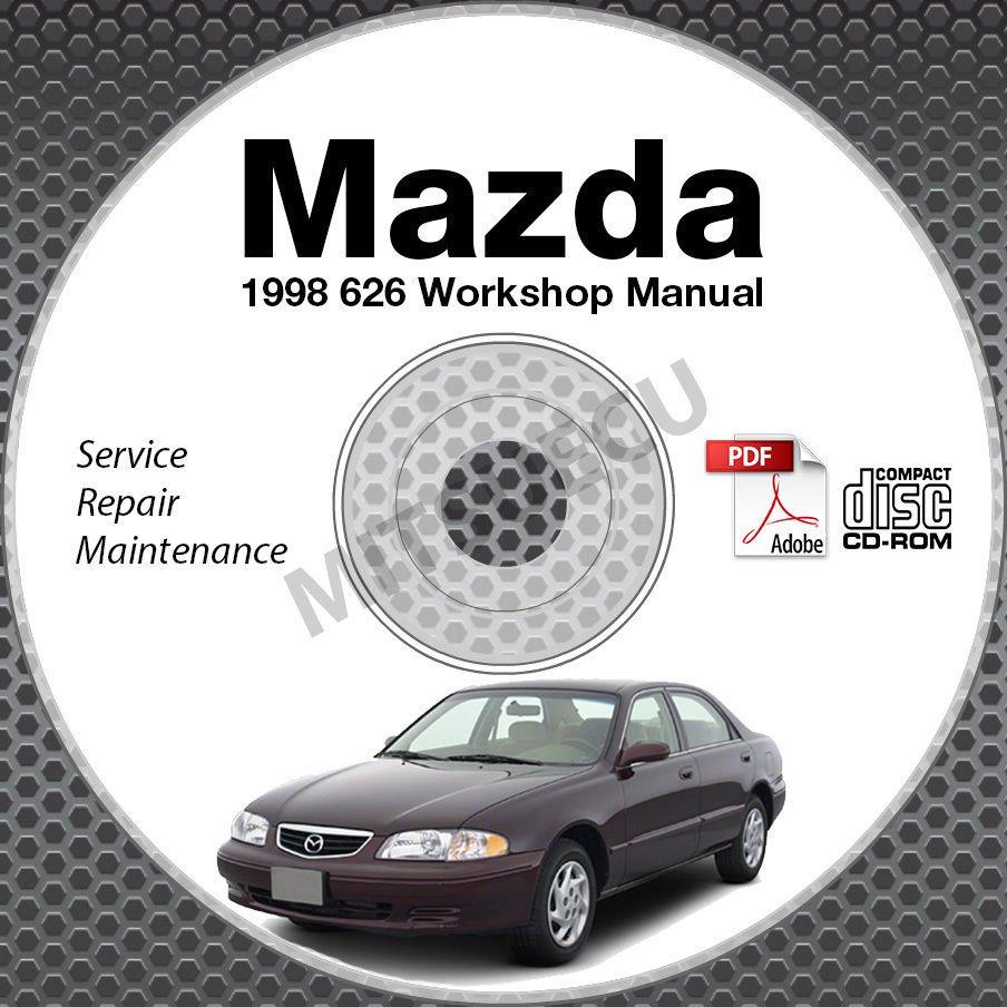 1998 Mazda 626 Service Manual CD ROM 2.0L 2.5L workshop repair