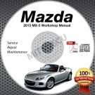 2013 Mazda Miata MX-5 Service Manual CD Workshop Repair 2.0L NC *NEW* High Def