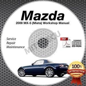 2009 Mazda Miata MX-5 Service Manual CD Workshop Repair 2.0L NC *NEW* High Def
