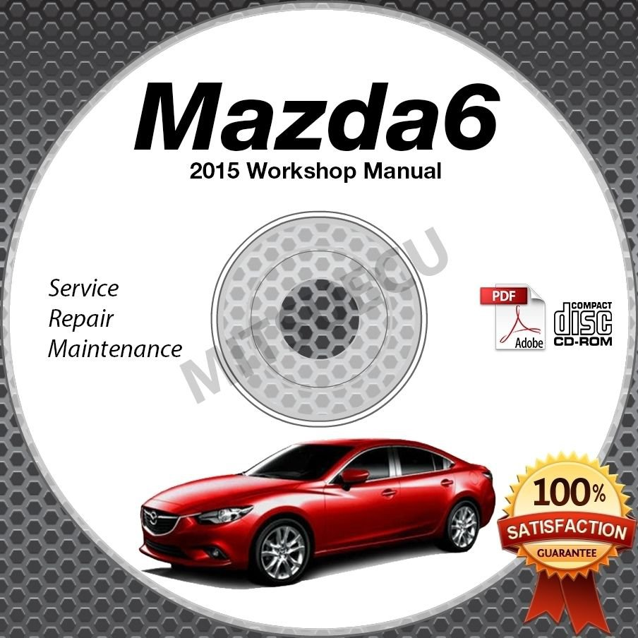 2015 mazda6 high definition service manual cd 2 5l. Black Bedroom Furniture Sets. Home Design Ideas