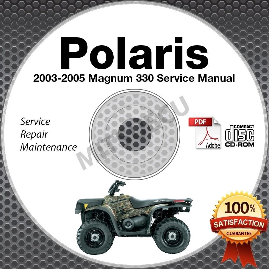 2003 2005 polaris magnum 330 service manual cd rom 2x4 4x4 hds rh ecrater com 2005 polaris magnum 330 service manual pdf 2005 polaris magnum 330 service manual pdf