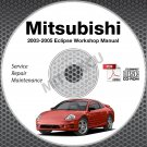 2003-2005 Mitsubishi Eclipse Service Repair Manual CD ROM workshop 3G