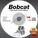 Bobcat S330 Skid Steer Loader Service Manual CD (SN A020/A021 11001-5999) repair