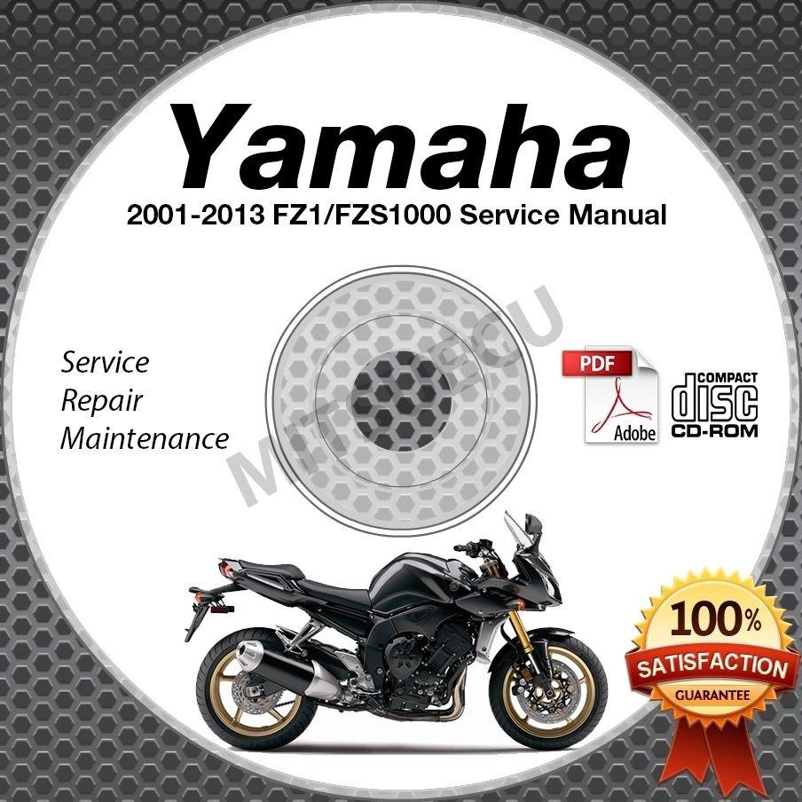 2001 2013 yamaha fz1 fzs1000 fazer all models service. Black Bedroom Furniture Sets. Home Design Ideas