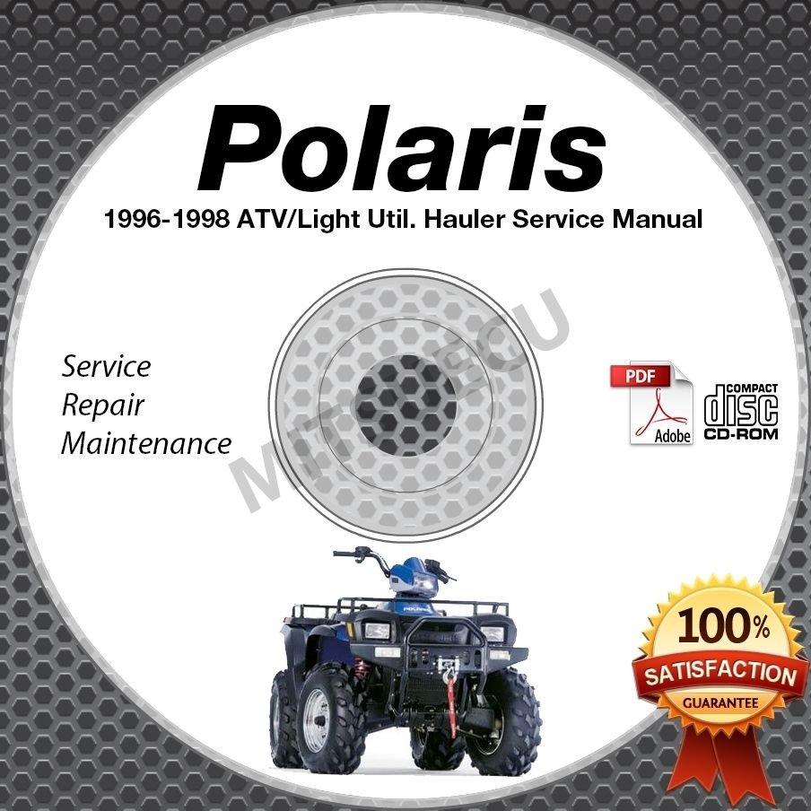 1996 1997 1998 Polaris Xpress/Sportsman/Sport/Big Boss Service Manual CD repair
