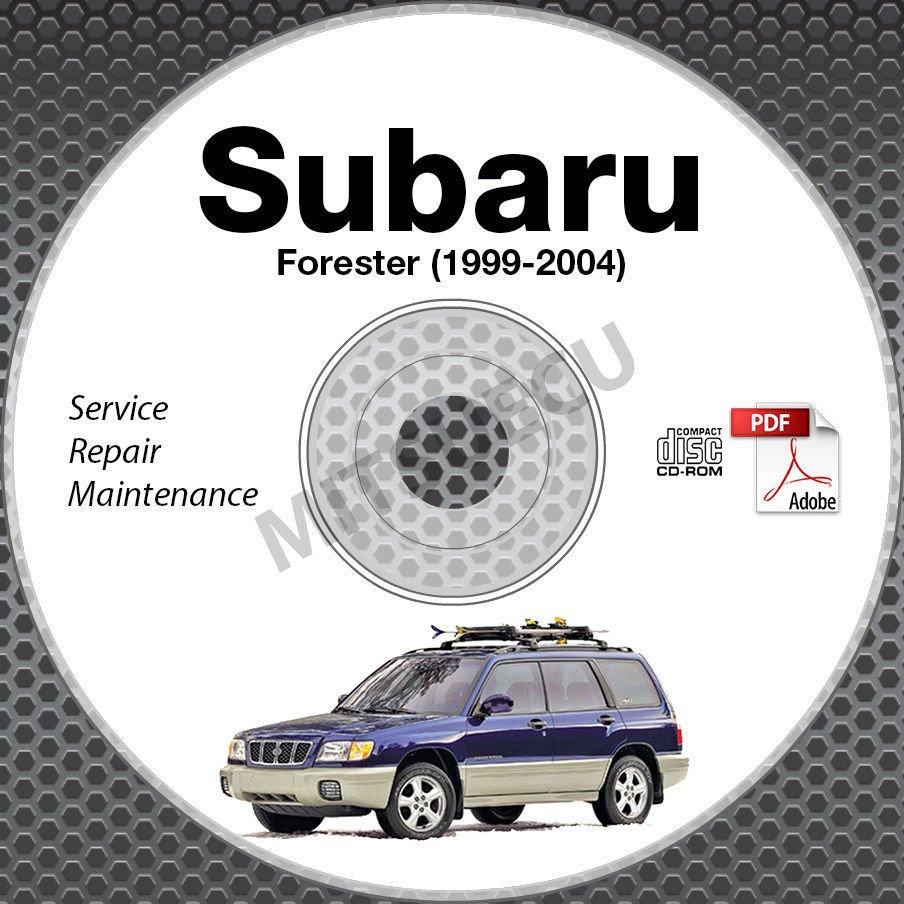 1999 2004 subaru forester service repair manual cd rom. Black Bedroom Furniture Sets. Home Design Ideas