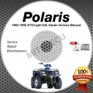 1985-1995 Polaris Trail Boss/Blazer/Big Boss Service Manual CD ROM repair shop