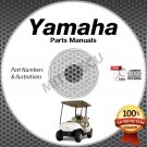 Yamaha GOLF CART G1 G2 G5 G8 G9 G11 G14 G16 G21 G22 G29 PARTS MANUAL CD catalog