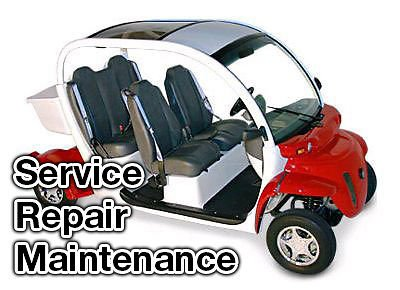 2005-2006 GEM E2, E4, ES, EL Electric Car Service Manual CD ROM Repair