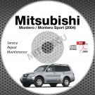 2004 Mitsubishi Montero + Montero Sport Service Manual CD ROM repair workshop