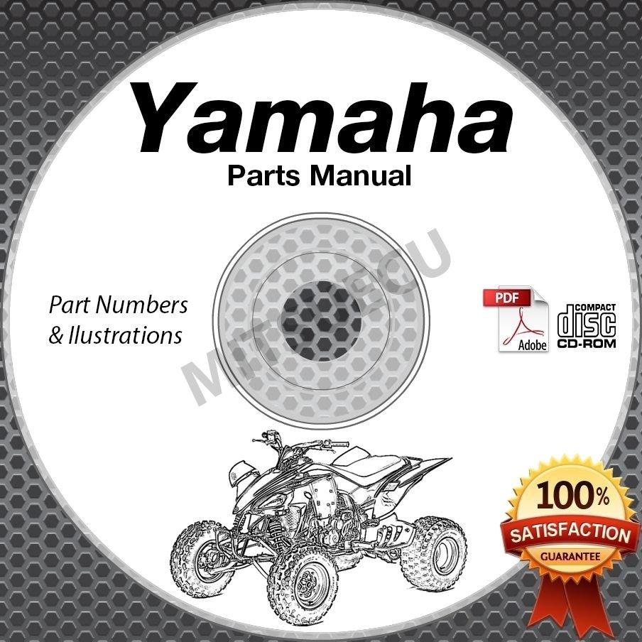 1991-2004 Yamaha WARRIOR yfm350x atv PARTS MANUAL CD ROM spare catalog *new*