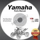 1997 Yamaha WOLVERINE YFM35FXJ 4x4 atv PARTS MANUAL CD ROM spare catalog