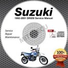 1992-1995 Suzuki DR650R DR650S Service Manual CD ROM Repair 1993 1994 Canada