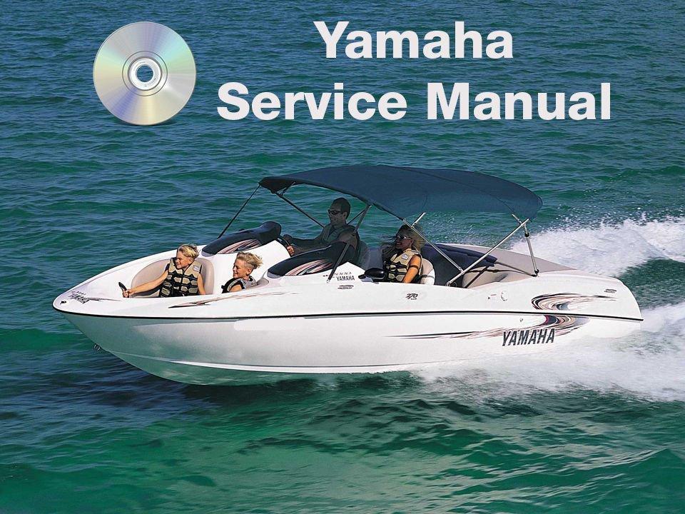 1996 1997 1998 Yamaha Exciter 220 Jetboat Service Manual CD repair shop EXT1100