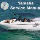 1996 1997 1998 Yamaha Exciter 220 Jetboat Service Manual CD repair shop EXT1100