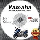 2009-2011 Yamaha TMAX XP500 Scooter Service Manual CD ROM repair shop 2010