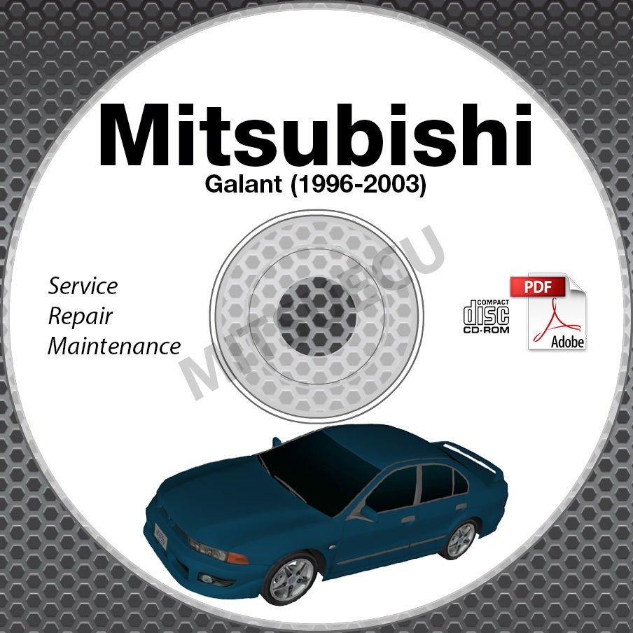 1996 2003 mitsubishi galant service manual cd rom repair workshop rh ecrater com 2011 Mitsubishi Galant Service Manual 2010 Mitsubishi Galant SE