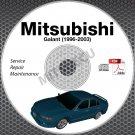 1996-2003 Mitsubishi GALANT Service Manual CD ROM repair workshop 2.4L 3.0L