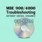 Detroit Diesel MBE 900/4000 Troubleshooting Guide CD (6SE422) repair diagnostics