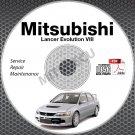 2003-2005 Mitsubishi Lancer Evolution VIII 8 Service Repair Manual CD repair Evo