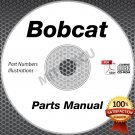 Bobcat T250 Compact Track Loader PARTS MANUAL CD S/N 523X11001 and up