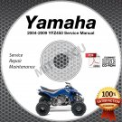 2004-2009 Yamaha YFZ450 Service Manual CD ROM repair shop 05 06 07 08 09
