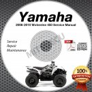 2006-2010 Yamaha WOLVERINE 450 YFM450 Service Manual CD ROM repair shop 07 08 09