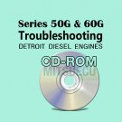 Detroit Diesel Series 50G / 60G Troubleshooting Guide CD (6SE482) diagnostics