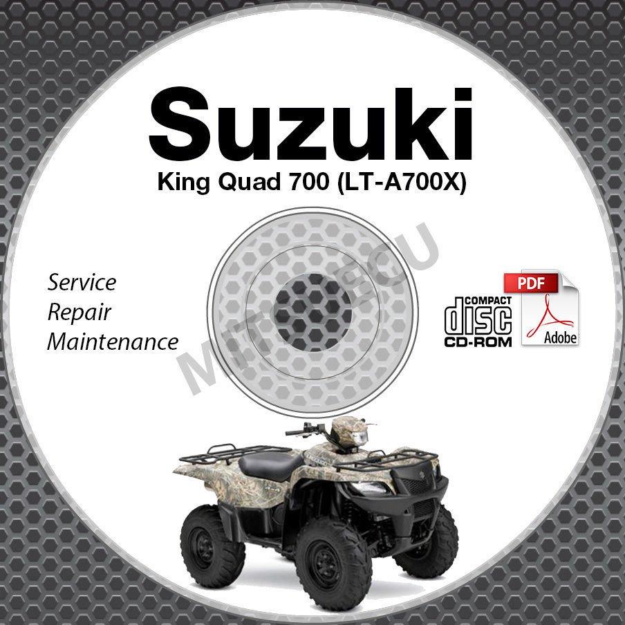suzuki king quad 700 service manual