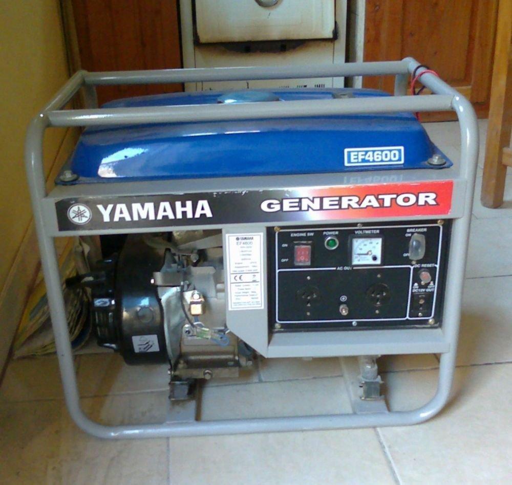 Yamaha Generator Ef De Specs