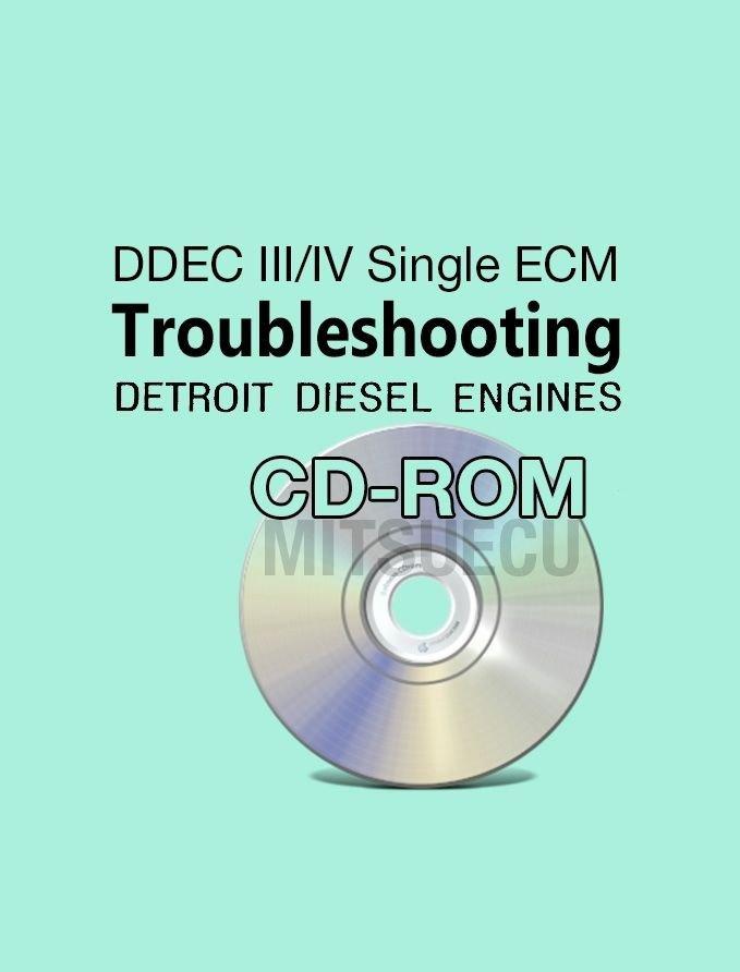 Detroit Diesel Troubleshooting Manual CD DDEC III/IV Single ECM diagnostics