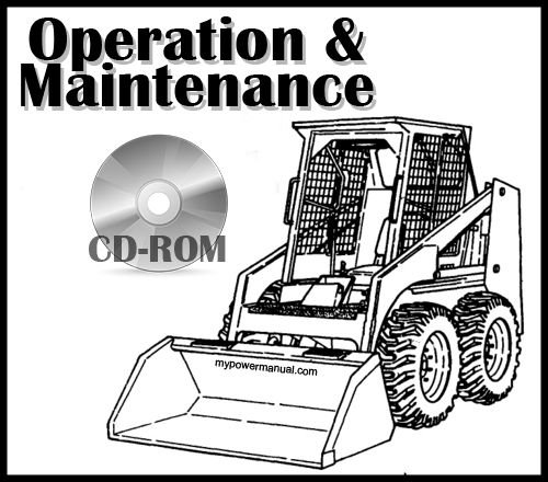 Bobcat S205 Loader Operation and Maintenance Manual CD S/N 530611001 & Above