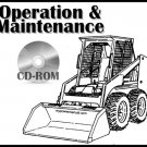 Bobcat S205 Loader Operation and Maintenance Manual CD S/N 530611001 & Above