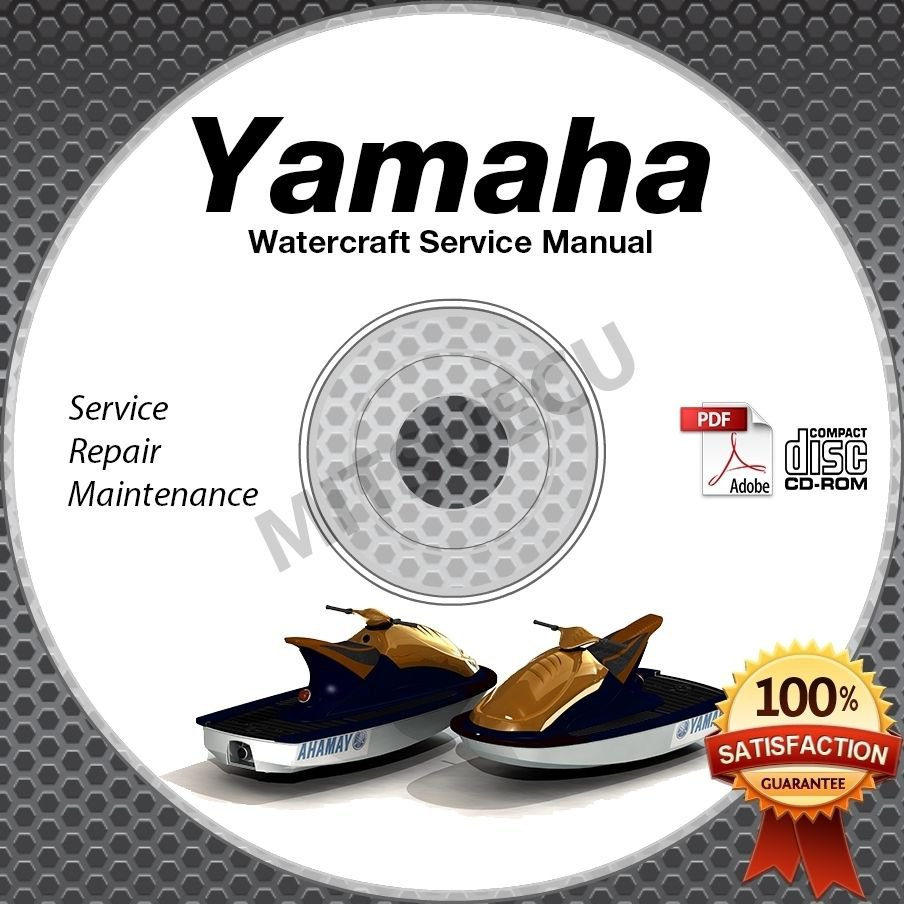 1993-1997 Yamaha WAVE BLASTER 1 & 2 Service Manual CD repair shop waverunner PWC