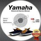 1994-2013 Yamaha SUPERJET Service Manual CD repair shop waverunner PWC 09 08 07