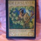 Vintage Book The Deerslayer James Fenimore Cooper