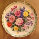 Collectible Plate Danbury Mint 'The Flowers of England'
