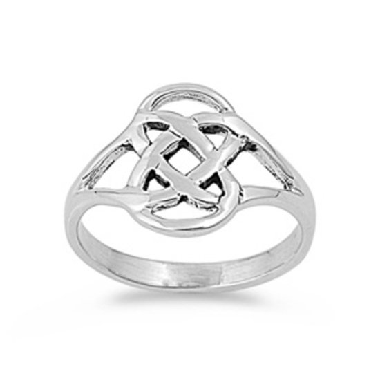 925 Solid Sterling Silver Ring Band 14 mm (0.55 inch)