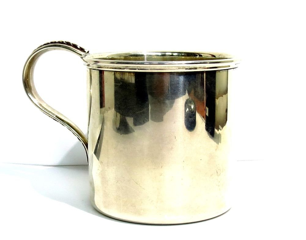 SILVER CUP SALISBURY SIGNED 925 3.47OZ NEW