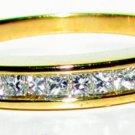 0.60CT CLASSIC DIAMOND WEDDING BAND 14KT