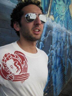 """Royal Angel"" Bamboo Skate Shirt- LURKER"